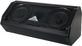 """Grundorf Corp GT1601MH-BLACK 8"""" Two-Way Dual Bass Reflex Multi-Angle Loudspeaker System (with Handle, No Pole Mount, Black) GT1601MH-BLACK"""