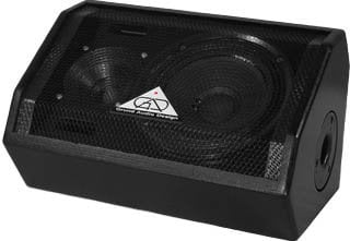 "Grundorf Corp GT801MH 8"" Two-Way Bass Reflex Multi-Angle Loudspeaker System (Handle, No Pole Mount, Black) GT801MH"