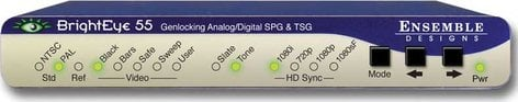 Ensemble Designs BE-55  Genlockable Sync Generator and Test Signal Generator BE-55