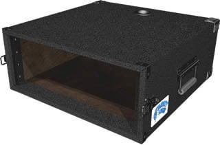 Grundorf Corp MLD-04 4 RU Mighty Light™ Deep Amp Rack MLD-04