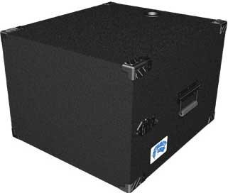 Grundorf Corp MLD-08 8 RU Mighty Light™ Deep Amp Rack MLD-08