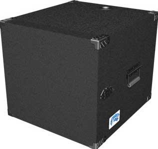 Grundorf Corp MLD-10 10 RU Mighty Light™ Deep Amp Rack MLD-10