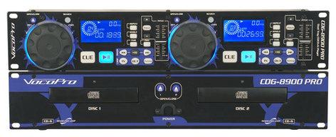 VocoPro CDG-8900 PRO Dual DJ CD/Karaoke Player CDG-8900-PRO