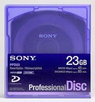 Sony PFD23 XDCAM Pro Disc, 23.3GB PFD23