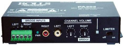 Rolls PA202 20W x 2 @ 4 Ohms Stereo Amplifier PA202