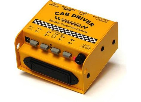 Whirlwind Cab Driver Speaker Component Checker CAB-DRIVER
