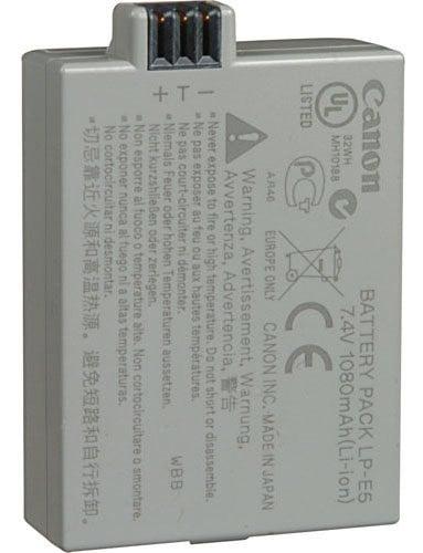 Canon LP-E5  Battery Pack  LP-E5
