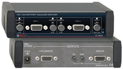 Radio Design Labs EZ-VM22E Switcher, 2x2 VGA/XGA EZ-VM22E