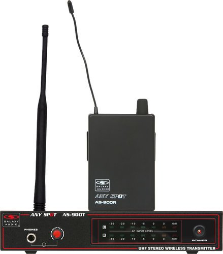 Galaxy Audio AS-900 Any Spot Wireless Personal Monitor System with EB3 Earbuds AS-900
