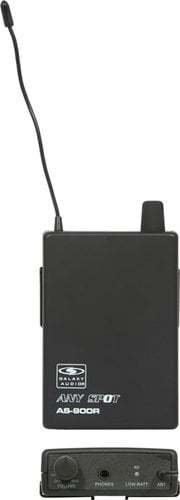 Galaxy Audio AS-900R Any Spot Wireless Bodypack Receiver for AS-900 Series AS-900R