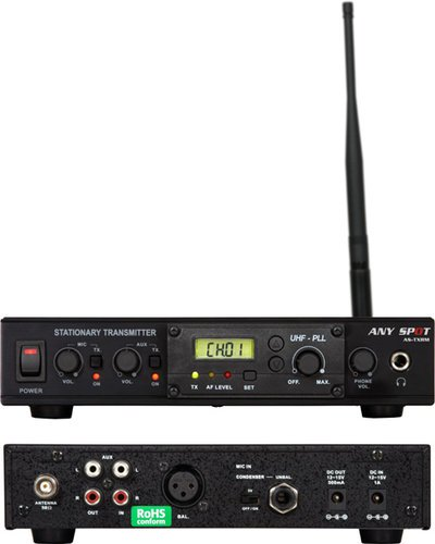 Galaxy Audio AS-TXRM  Stationary Audio Link Transmitter (for Traveler PA Systems) AS-TXRM