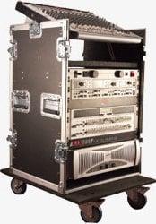 Gator Cases G-TOUR-10X14PU  ATA-Style Pop-Up Mixer Case (10 RU Top, 14 RU Bottom) G-TOUR-10X14PU