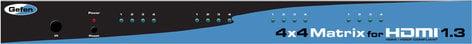 Gefen Inc EXT-HDMI1.3-444  4x4 HDMI 1.3 Matrix EXT-HDMI1.3-444