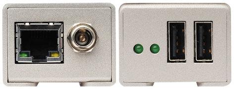 Gefen Inc EXT-USB2.0-LR USB 2.0 Extender Over CAT5 EXT-USB2.0-LR