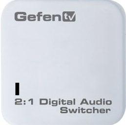Gefen Inc GTV-DIGAUD-241  GefenTV 2:1 Digital Audio Switcher GTV-DIGAUD-241