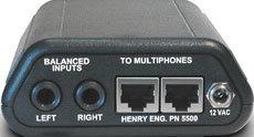 Henry Engineering MINI-POD Stereo Headphone Amplifier MINI-POD