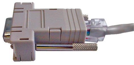 Vaddio EZCAMERA-CONTROL-ADP Adapter, RJ45 to DB9F EZCAMERA-CONTROL-ADP