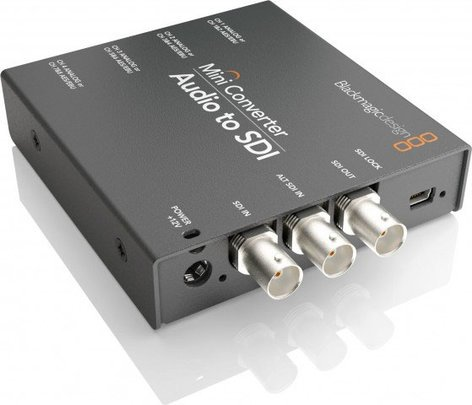 Blackmagic Design CONVMCAUDS Audio to SDI Mini Converter CONVMCAUDS