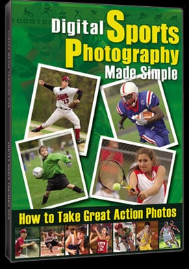 Vortex Media DSPMS  Digital Sports Photography Made Simple DVD DSPMS
