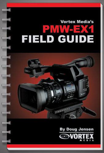 Vortex Media FGEX1  PMW-EX1 Field Guide Book FGEX1