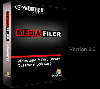 Vortex Media MFN  MediaFiler 3.0 Tape/Disk Library Unlimited Multi-User Network Version MFN