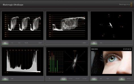 Blackmagic Design UltraScope 3G-SDI and Optical Fiber Scope ULTRASCOPE