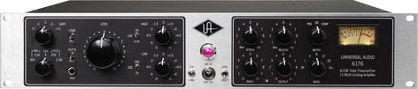 Universal Audio 6176 Vintage Channel Strip with Classic Tube Microphone Preamp and 1176-Style Compressor 6176