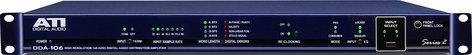 Audio Technologies DDA-106XLR Distribution Amp, Digital, 1x6, XLR, AES/EBU DDA-106XLR
