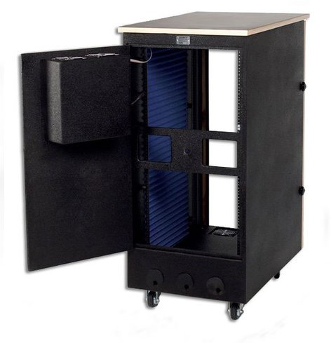 Sound Construc.& Supply ISOBPOST18-45  Isobox Post, 18-Space, 24x45x41 ISOBPOST18-45