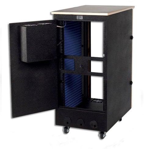 Sound Construction ISOBPOST24-45  Isobox Post, 24-Space, 24x45x54 ISOBPOST24-45