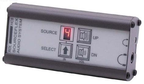 RDL SAS-HC8 Headphone Amplifier with Source Selection, Control Station SAS-HC8