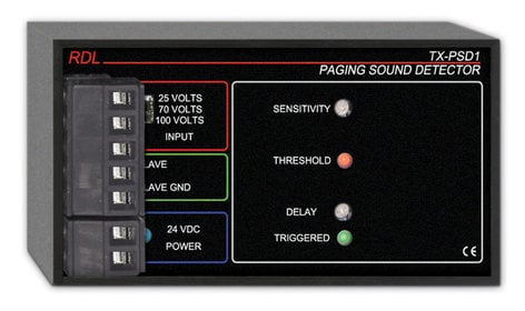 Radio Design Labs TX-PSD1 Paging Sound Detector TXPSD1