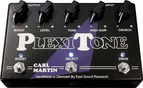 Carl Martin PLEXI-TONE Dual Overdrive Pedal PLEXI-TONE