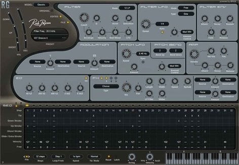 Rob Papen RG Rob Papen Rythm Guitar Synth (Electronic Delivery) RG