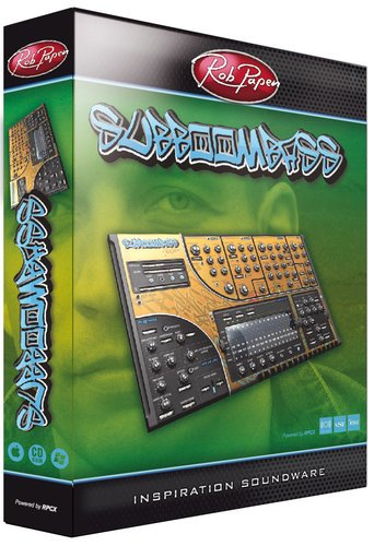 Rob Papen SUB-BOOM-BASS Rob Papen Bass Synth (Electronic Delivery) SUB-BOOM-BASS