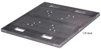"Show Solutions Inc PB-H1200 30""x30"" Heavy Duty Base Plate PB-H1200"