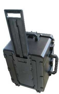 """SKB Cases 3I-2317-14BC Molded 23""""x17""""x14"""" Case with Cubed Foam & Wheels 3I-2317-14BC"""