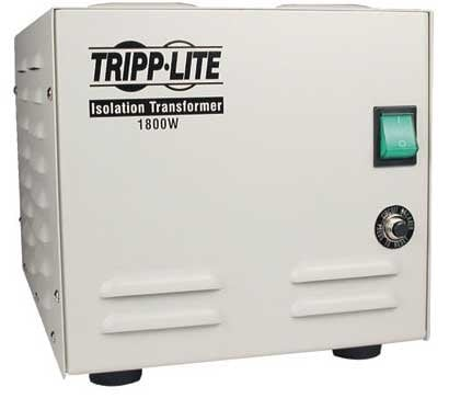 Tripp Lite IS1800HG  Isolation Transformer, Medical Grade, 1800 watts,  6 Out IS1800HG