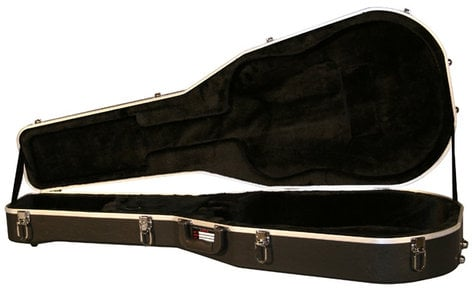 Gator Cases GC-DREAD Deluxe Hardshell ABX Dreadnought Acoustic Guitar Case GC-DREAD