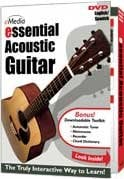 eMedia Music Corporation ESSENTIAL-ACOUSTIC Essential Acoustic Guitar Instruction DVD ESSENTIAL-ACOUSTIC