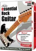 eMedia ESSENTIAL-ROCK  Rock Guitar Instruction DVD ESSENTIAL-ROCK