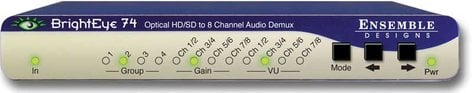 Ensemble Designs BE-74  Optical Disembedder with HD/SD Electrical Out BE-74