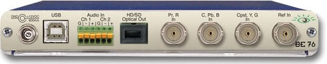 Ensemble Designs BE-76 HD Analog to Digital Video Converter with Optical Out BE-76