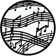 Rosco Laboratories 71020 Gobo Dancing Music 71020