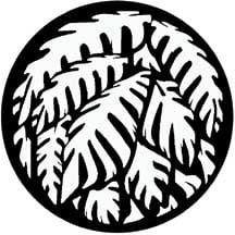 Rosco Laboratories 71032 Jungle Palms Gobo 71032