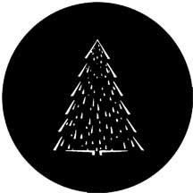 Rosco 73633-ROSCO Christmas Tree C Gobo 73633-ROSCO