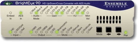 Ensemble Designs BE-90 HD Up/Down Cross Converter and ARC with AES Audio BE-90