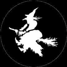 Rosco Laboratories 77234 Witch Gobo 77234