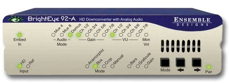 Ensemble Designs BE-92A HD Downconverter with Analog Audio BE-92A