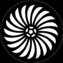 Rosco Laboratories 77427 Gobo Pin Wheel 77427